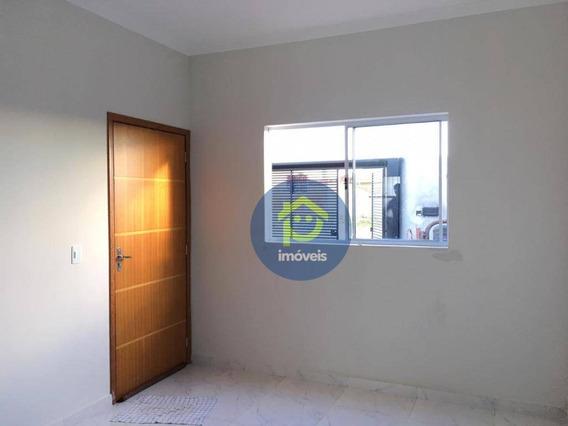 Casa Nova Com 2 Dormitórios À Venda, 51 M² Por R$ 119.000 Mais Parcelas Do Terreno- Parque Gramado - Cedral/sp - Ca2522