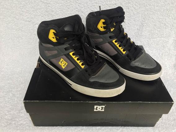 Zapatillas Dc T 39 Pie 25 Cm Negra/amarilla Preguntar