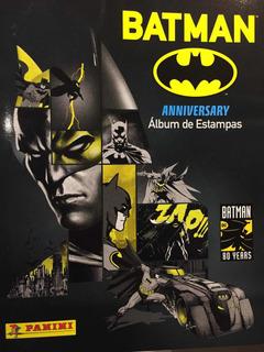 Batman Anniversary Album De Estampas Vacío