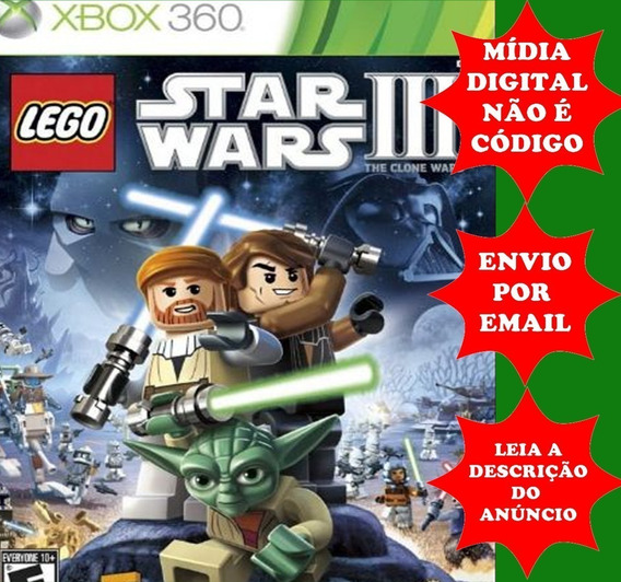 Lego Star Wars 3 Xbox 360 Mídia Digital