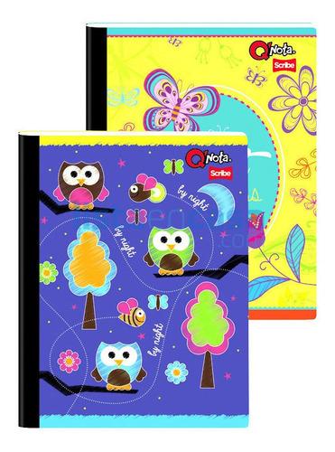 12 Cuadernos Cosidos X 100 Hojas Grandes