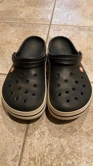 Crocs Crocband Color Negro Talle 42