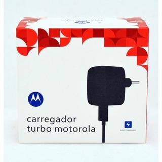 Carregador Turbo Motorola Original