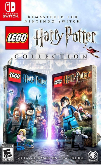 Mídia Física Lego Harry Potter Collection Switch - Lacrado!