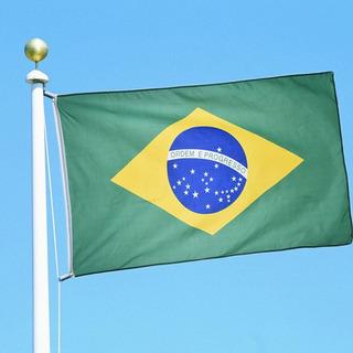 Bandera Brasil 90 X150 Cm Banderas De Todo El Mundo