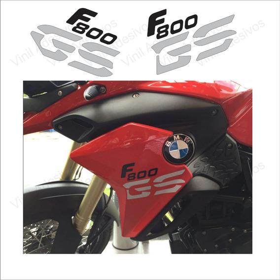 Kit Adesivo Emblema Bmw F800gs 2015 Vermelha