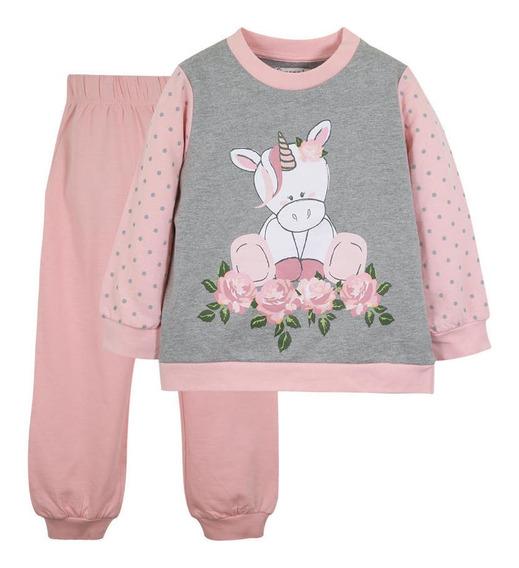 Pijama Penelope Niña Rosa Limonada
