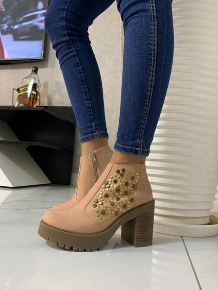 Zapatos Mujer Texanas Art York 20100