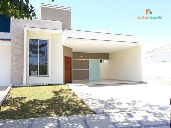 Casa Em Condomínio Lago Da Serra-sp. Imobiliária Araçoiaba - Ca0382