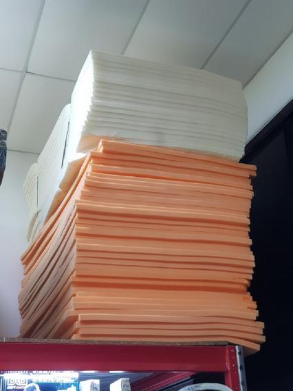 Goma Espuma Placas 2 M X 1 M X 5 Cm - Alta Densidad 28 Kg.