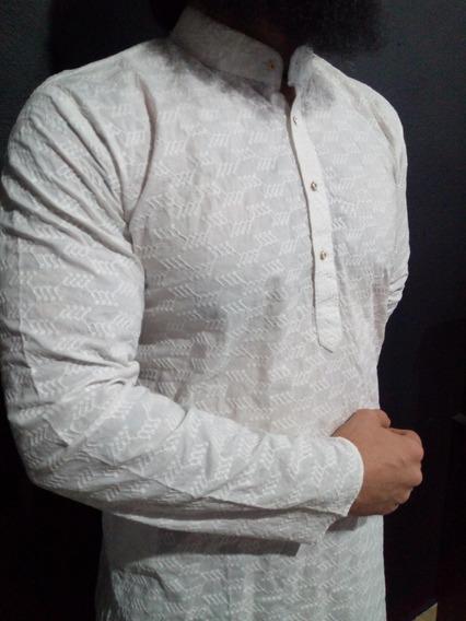 Kurta, Camisa Hindu Para Caballero, No Incluye Pantalón