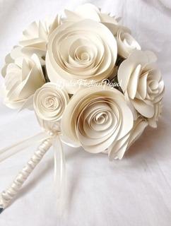 Bouquet,bodas,centros De Mesa,arreglos,ramos,flores De Papel