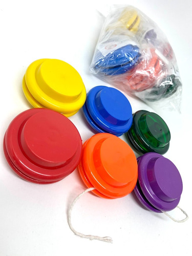 Imagem 1 de 2 de Yo-yo / Yoyo / Io-io / Ioio - Pacote Com 12 Unidades