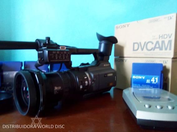 Camara Profesional Sony Pd170 Combo (importada) Como Nueva!!