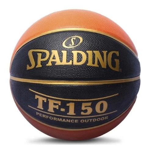 Pelota Basquet Spalding Tf-150 Black Nº7 Outdoor Pro Basket