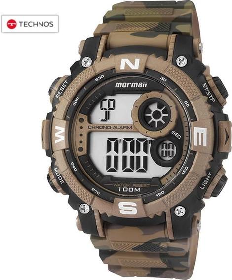 Relógio Mormaii Camuflado Tan Garantia Technos Original Nfe