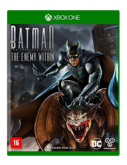 Batman The Enemy Within Mídia Física Em Português Xbox One