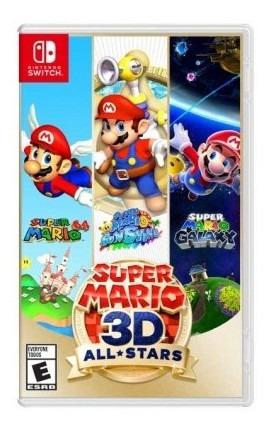 Juego Nintendo Switch Super Mario 3d All Stars Juego Tk743