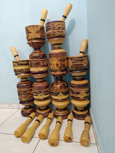 Imagem 1 de 3 de Pilão Artesanal