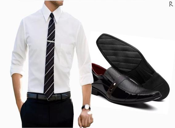 Kit Camisa Sapato E Gravata Postagem Imediata Preço Queima