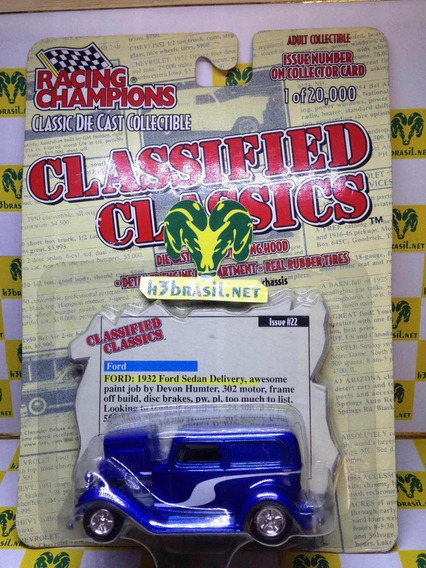 Bx422 Racing Champions Ford 32 Sedan Delivery H3br