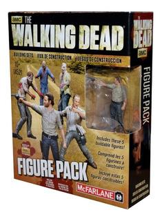 The Walking Dead Construction Figure Pack ( Orig) Mcfarlane