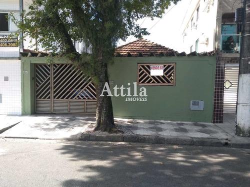 Casa Com 2 Dorms, Macuco, Santos - R$ 585 Mil, Cod: 2044 - V2044