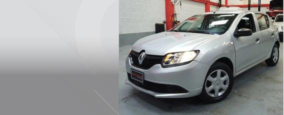 Renault Sandero Authentique Plata 2018