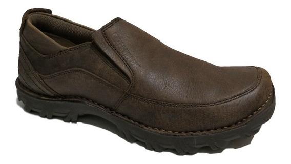 Zapatillas Hombre Caterpillar Cuero Zapato Elástico Stride