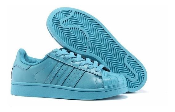 Tenis adidas Azul Electrico De Hombre