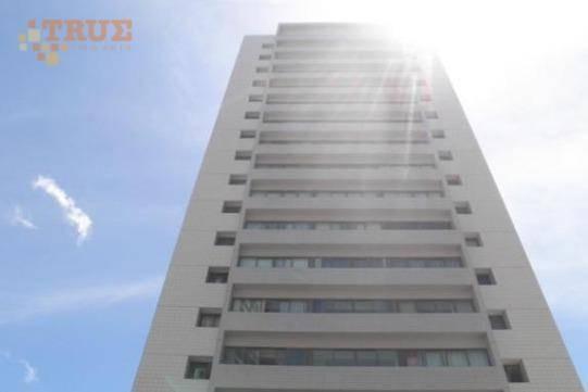 Apartamento Com 1 Dormitório Para Alugar, 52 M² Por R$ 1.200,00/mês - Madalena - Recife/pe - Ap2955