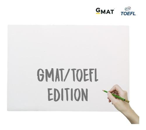 Kit Pizarra De Mano A3 - A4  Gmat - Toefl Home Edition