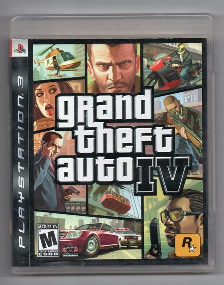 Playstation 3 - Gta Iv - Original Americano