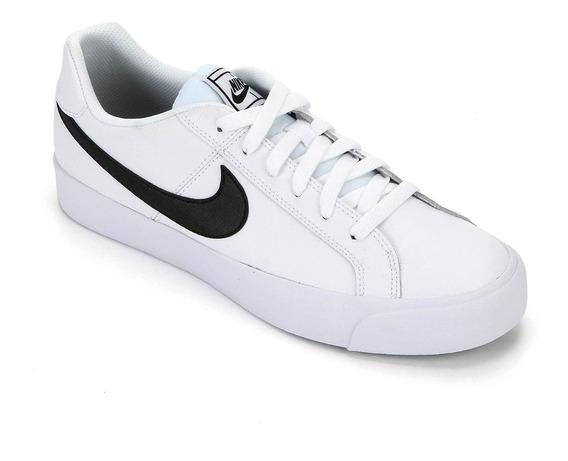 Tênis Nike Court Royale Ac Masculino - Branco E Preto