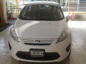 Ford Fiesta 2011 Blanco $108,900.00