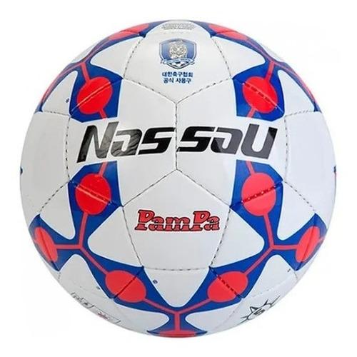 Imagen 1 de 4 de Pelota Futbol Nassau Pampa Nº 5 Cesped Original Cosida Pro