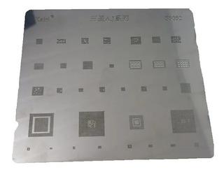 Stencil Bga Samsung Para J3, J5, J7, A3, A5, A7.