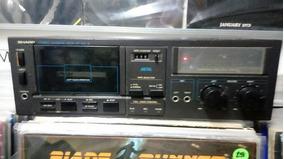 Tape Deck Sharp Rt 50 (leia)