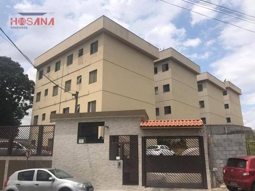 Imagem 1 de 21 de Apartamento Com 2 Dormitórios À Venda, 45 M² Por R$ 180.000 - Belém Estação - Francisco Morato/sp - Ap0151