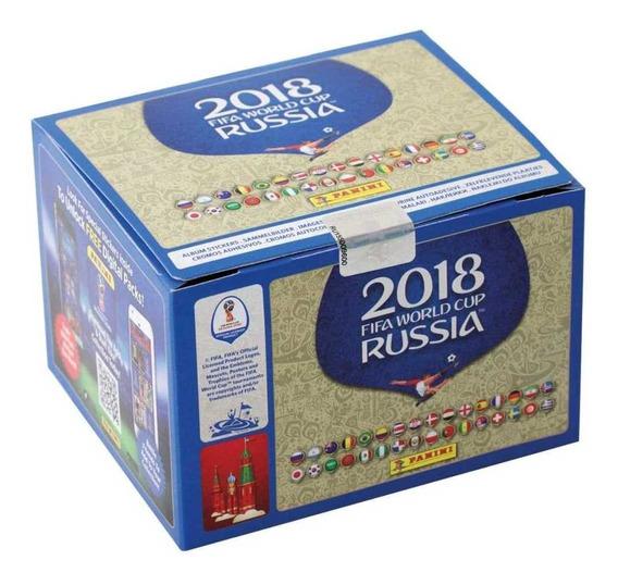 Caja Estampas Panini Rusia 2018
