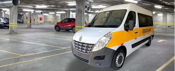 Renault Master Grand L2h2 Escolar 2020 Branco 20 Lugares 0km