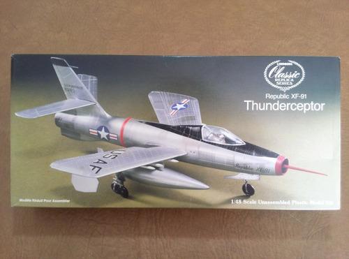 Imagen 1 de 7 de Avion Lindberg Republic Xf-91 Thunderceptor
