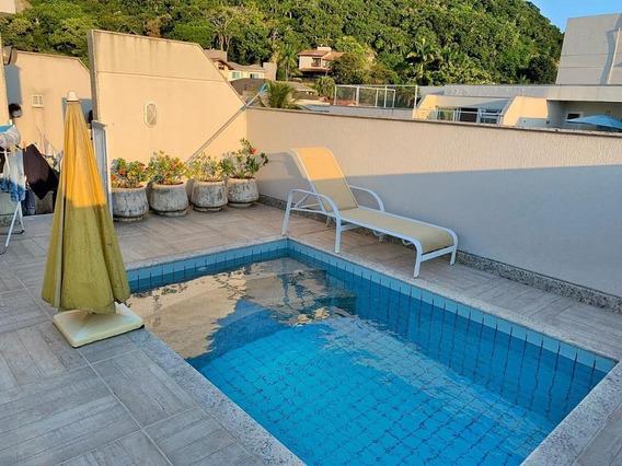 Cobertura Em Itacoatiara, Niterói/rj De 220m² 3 Quartos À Venda Por R$ 1.150.000,00 - Co244481