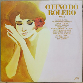 Lp Vinil - O Fino Do Bolero - Vol 2 - 1980