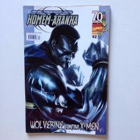 Hq Marvel Homem-aranha Wolverine Contra X-men Nº92