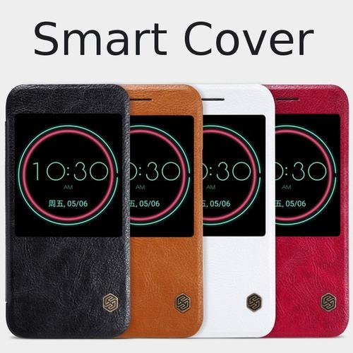 Estuche Protector Flip Cover Smart View Cuero Htc 10 M10