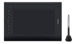 Tableta digitalizadora Huion H610 Pro V2 Black