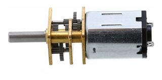 Mini Motor 12vdc Caja Reductora N20 600rpm Eje D [ Max ]