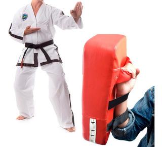 Almohadilla Punch De Entrenamiento Karate Box Rojo D3065