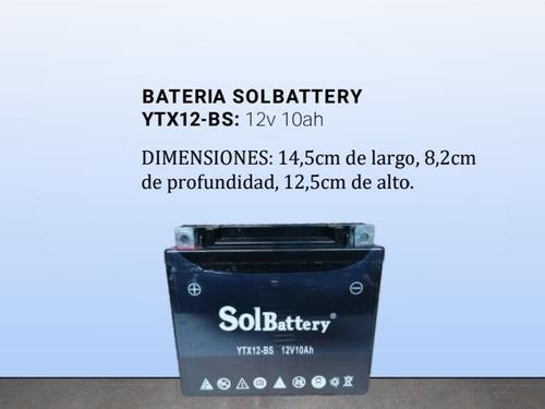 Baterias Ytx12-bs (12v 10ah)